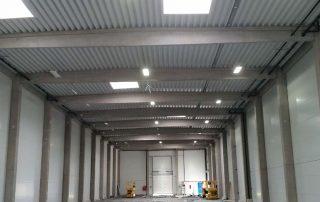 Salgótarján Raktárcsarnok LED Világítás
