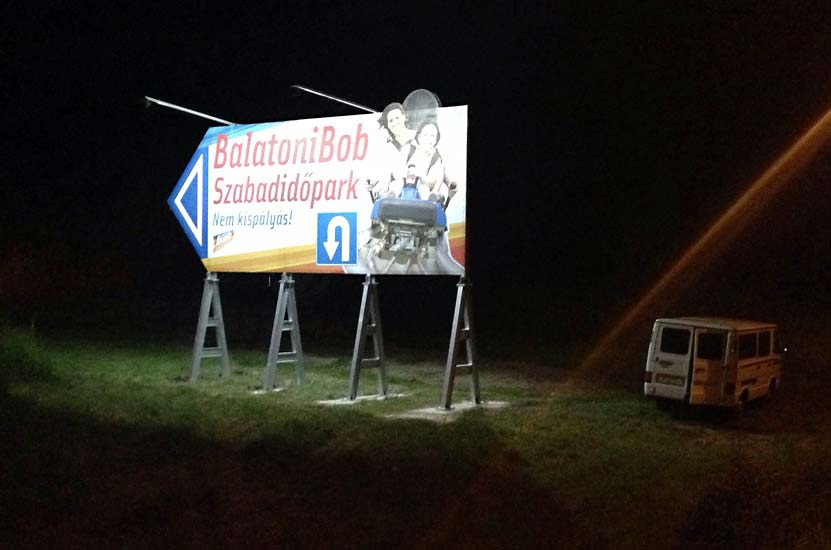 Balatonfűzfő, Bobpálya: LED Világítás Korszerűsítése